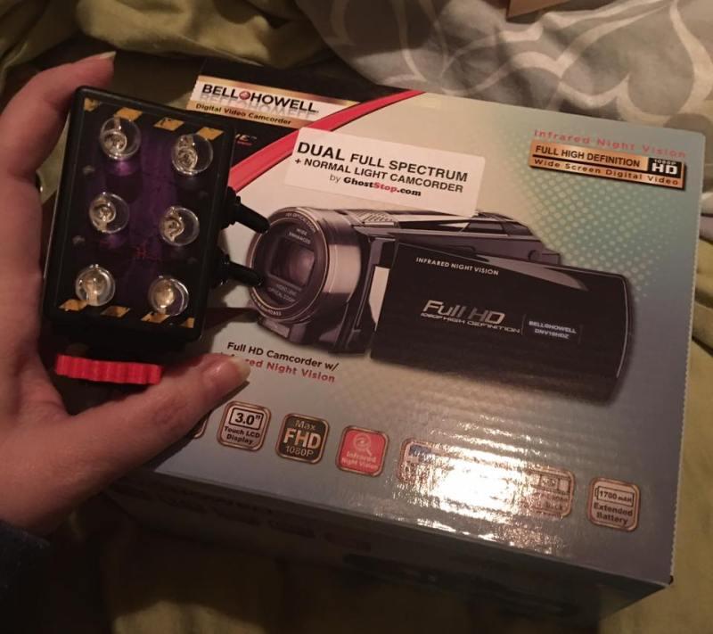 dual spectrum camcorder