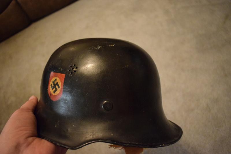 Nazi Helmet Swastika